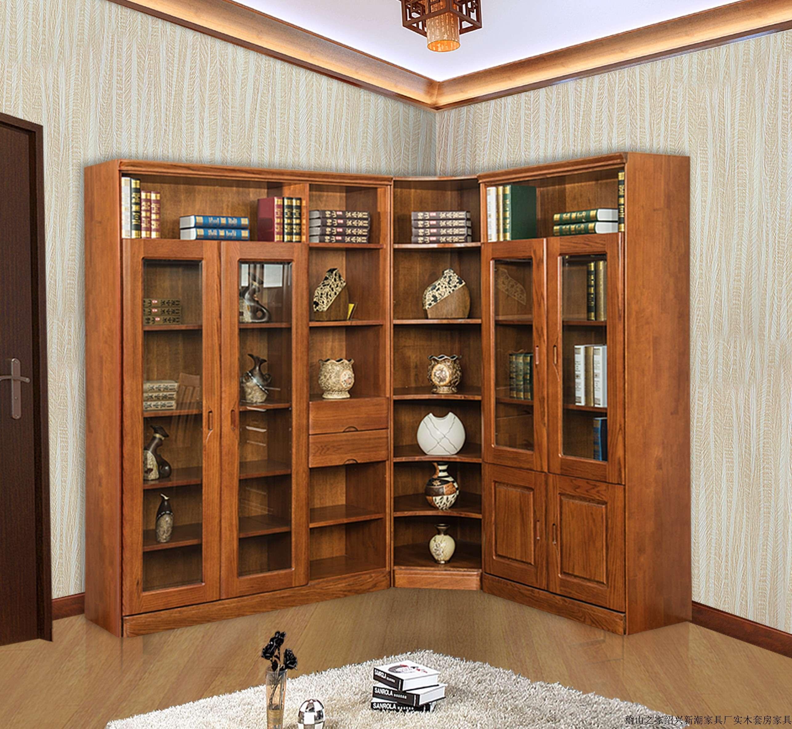 产品详情 分享到: 编号: 703转角书柜 类型: 书房系列 价格: ¥11000